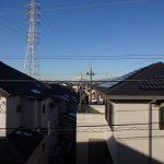 西の空に富士山眺望(眺望)