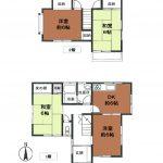 居室はすべて6帖(内和室が2部屋)なので、ゆったりとした穏やかな暮らしが送れそうですね。(間取)