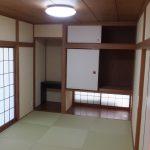 和室も広々とした落ち着いた空間となっています。(室内)